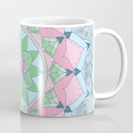 [Mandala] Lotus Pond Coffee Mug
