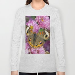 Common Buckeye Butterfly Long Sleeve T-shirt