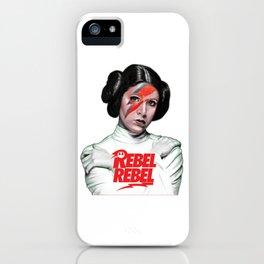 Princess Leia Rebel iPhone Case