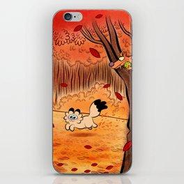 automne iPhone Skin