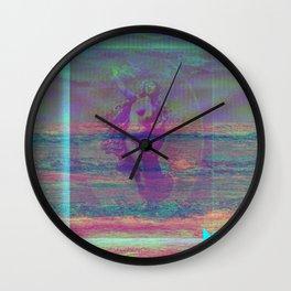 GLITCH stalker Wall Clock