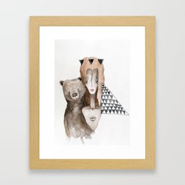 Ursa Minor Framed Art Print