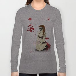 Pin-Up Ghoul Long Sleeve T-shirt