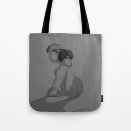the only one to see him broken Tote Bag