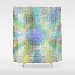 Surya Invocation (Sun) #2 - Magick Square Yantra Tantra Shower Curtain