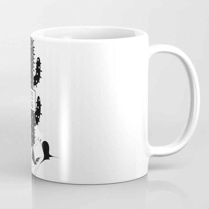 Free Hug Kills Coffee Mug