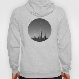 Grey black cones 4 Hoody