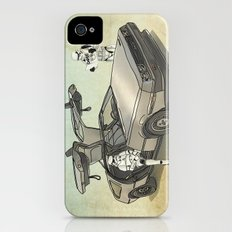 Lost, searching for the DeathStarr _ 2 Stormtrooopers in a DeLorean  Slim Case iPhone (4, 4s)