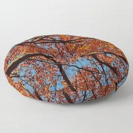 Fall Colors Floor Pillow