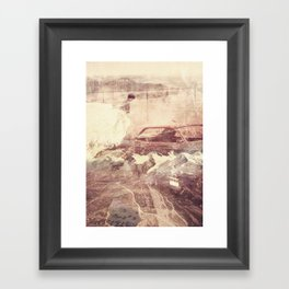 Over The Edge/Ooh Child Framed Art Print