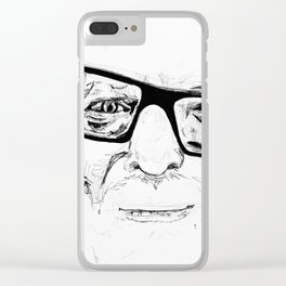 Clark Clear iPhone Case