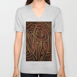 Egyptian abstraction Unisex V-Neck