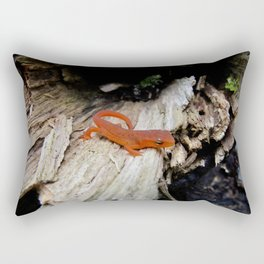 Red Newt Rectangular Pillow