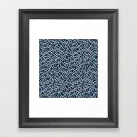 Kerplunk Blues Framed Art Print
