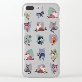 Mercats Clear iPhone Case