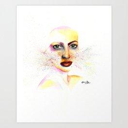 Striking Exposure Art Print