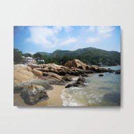 Silvermine Bay Beach Metal Print