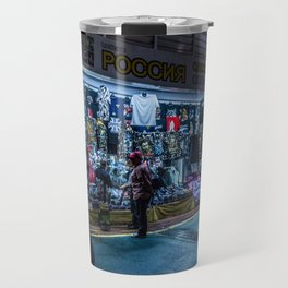 Busan neon lights Travel Mug