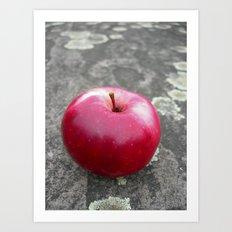 red apple VI Art Print
