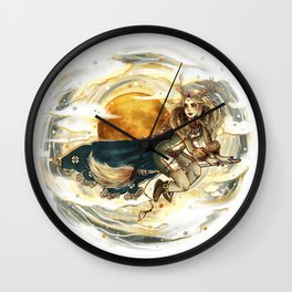 Harvest Moon Witch Wall Clock