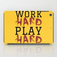 die hard iPad Cases featuring HARD by Free Specie