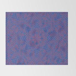 Mandala 22 Throw Blanket