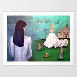 Real Life is Not a Fairy Tale Art Print