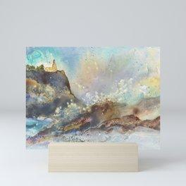 The Splash at Split Rock Mini Art Print