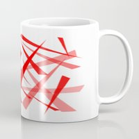 chaos Mugs featuring chaos by Sébastien BOUVIER