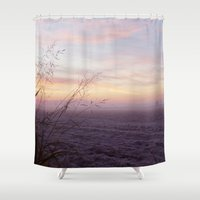 jack frost Shower Curtains featuring Frost by Randy Sager