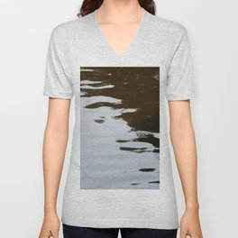 Dark and Clear Water Unisex V-Neck