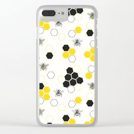 In the Hive Clear iPhone Case