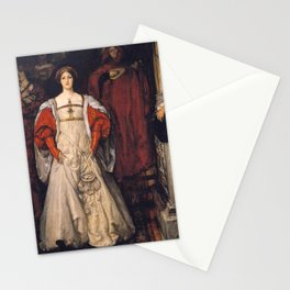 Who is Sylvia? What is She, That All the Swains Commend Her? by Edwin Austin Abbey Stationery Cards