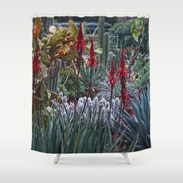 GDN 3 (The upper-class succulent society) Shower Curtain