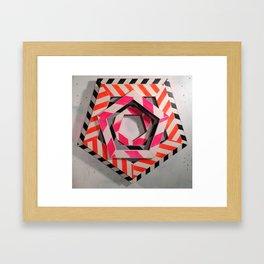 HEX STUDY Framed Art Print
