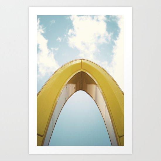 Golden Arch Art Print