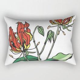 Kitsune Yuri Rectangular Pillow