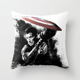 Steve Rogers: Shadow Edition Throw Pillow
