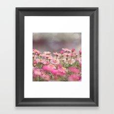 Dreaming of Flowers Framed Art Print