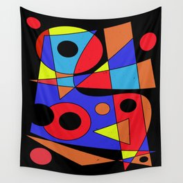 Abstract #104 Wall Tapestry