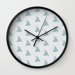 Triangles are nice Wall Clock