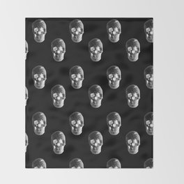 Skulls Pattern Throw Blanket