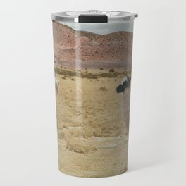 Lama Pampa bolivie Travel Mug