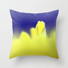 Yellow Petal 314 Throw Pillow