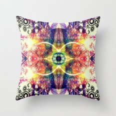 UPLIFTING EYE Throw Pillow