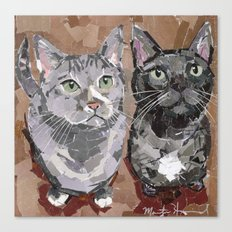 Stash and Foogers Canvas Print