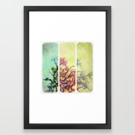 Twisted Framed Art Print