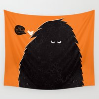 monster Wall Tapestries featuring Monster by Spore
