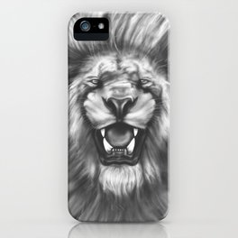 Courageous (Original drawing) iPhone Case