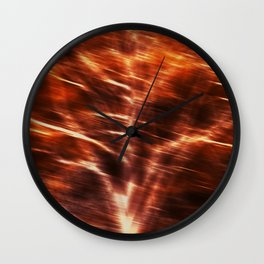 Berlin trees in Winter urban photography Wall Clock